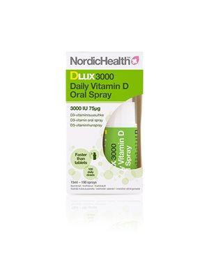 Vitamin D spray, 75 mcg DLux3000 NordicHealth