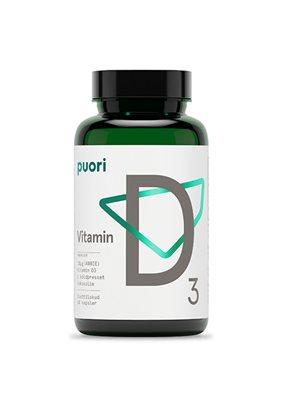 Vitamin D3 10mcg i kokosolie Puori