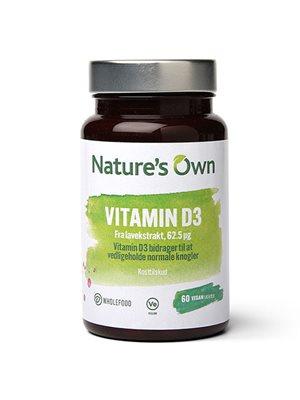 Vitamin D3 vegan udvundet af lavekstrakt