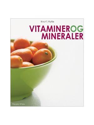 Vitaminer og mineraler bog Forfatter: Knut T. Flytlie