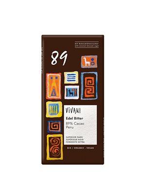 Vivani Chokolade 89% Kakao Ø
