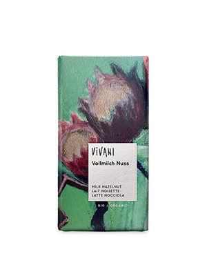 Vivani chokolade m. hakkede nødder Ø