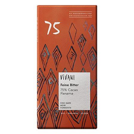 Vivani Panama chokolade mørk Ø 75%