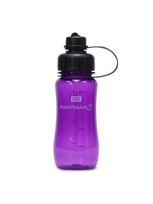 WaterTracker Purple 0,5 l  drikkedunk BRIX
