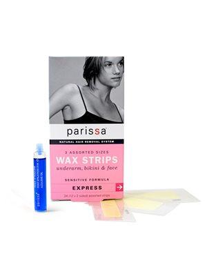 Wax strips ansigt, bikinilinie armhuler Parissa