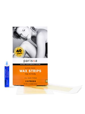 Wax strips ben og krop super  pack Parissa