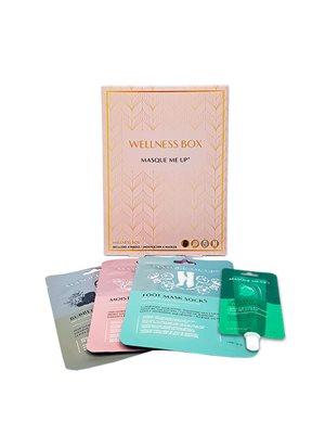 Wellness Box  indh. 4 masker