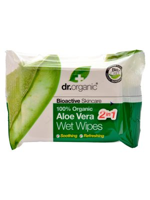 Wet Wipes Aloe Vera Dr.  Organic