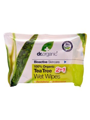 Wet Wipes Tea Tree Dr. Organic