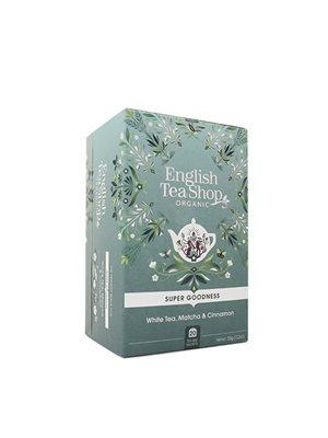 White Tea, Matcha & Cinnamon Ø