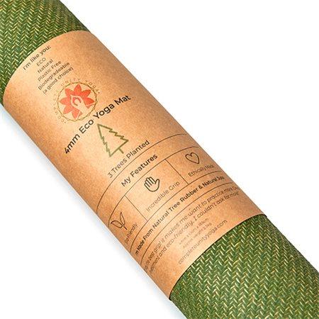 Yoga måtte CompleteGrip Lime 4mm