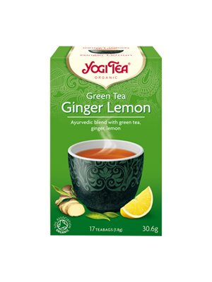Yogi Green Tea Ginger Lemon Ø
