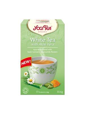 Yogi te white tea Ø m. aloe vera