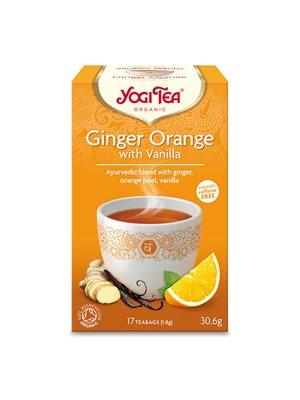 Yogi Tea Ginger orange with  vanilla Ø