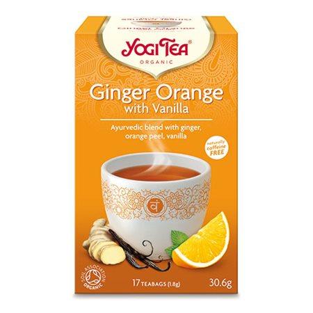 Yogi Tea Ø Ginger orange with  vanilla