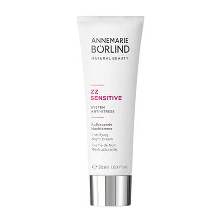 ZZ Sensitive Night cream Fortifying System anti-stress